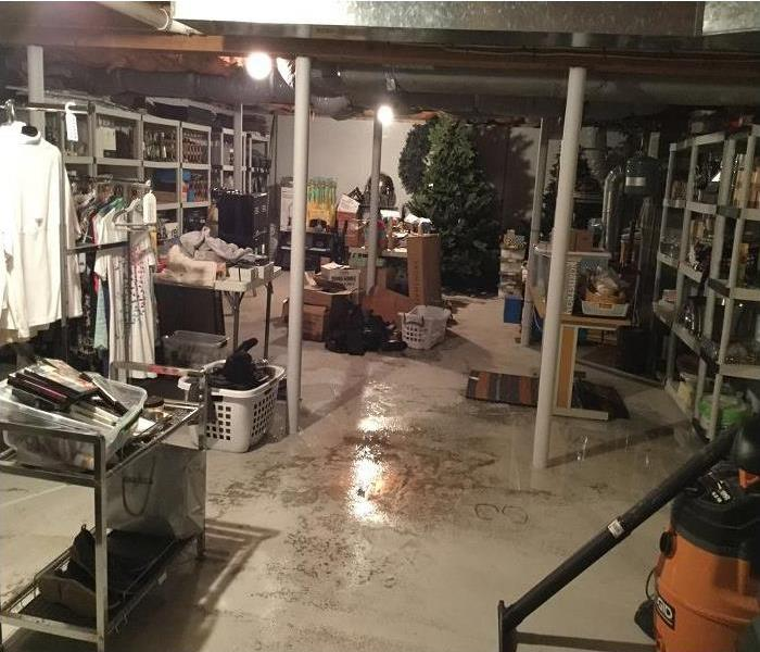 Water Floods a Basement in Worcester Before