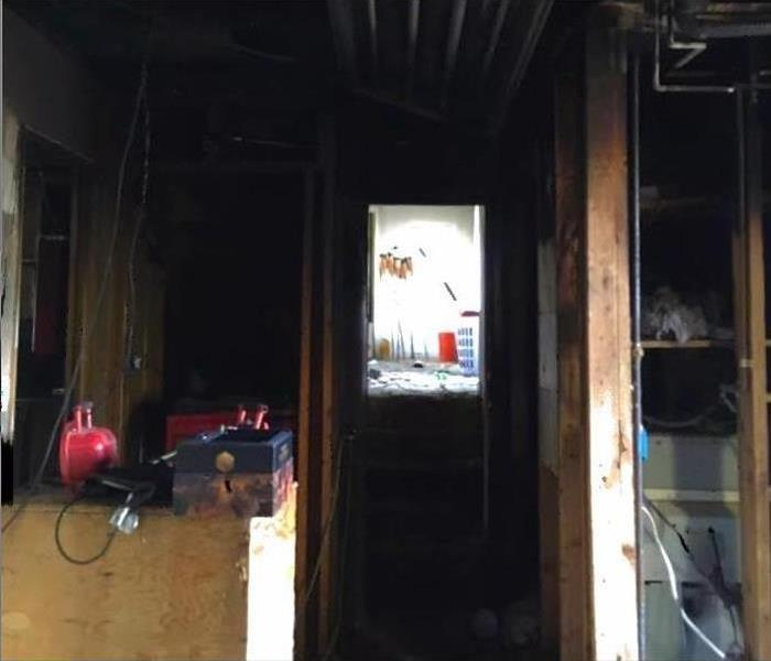 When Fire Strikes - SERVPRO Strikes Back! Before