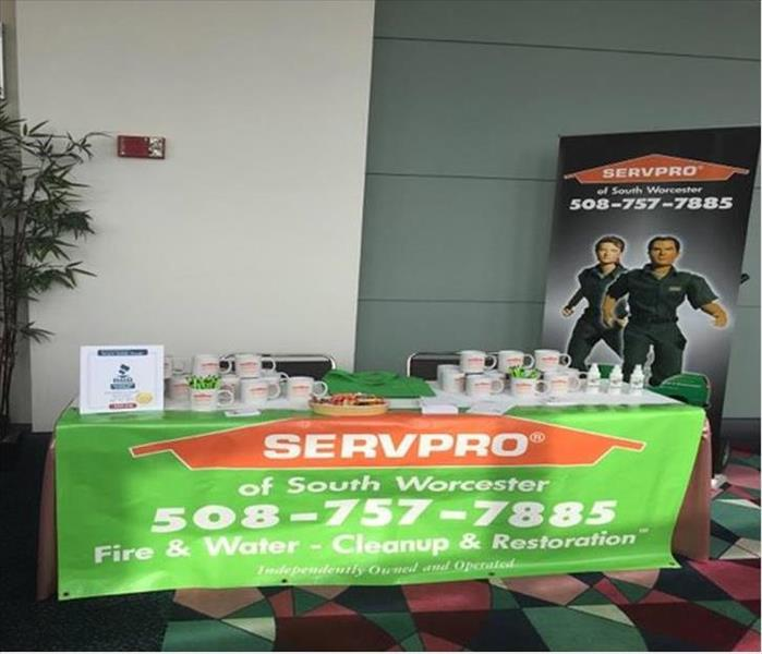 SERVPRO of  South Worcester Exhibited at the Women's Leadership Conference.