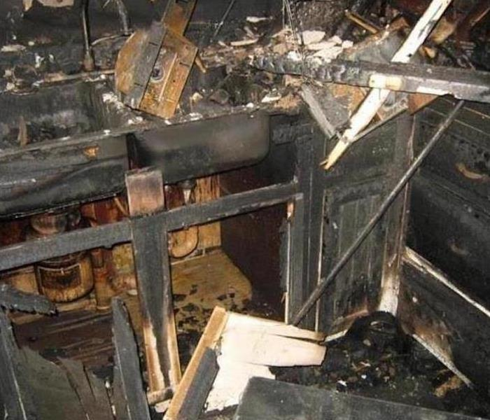 Fire Damage – Worcester Kitchen