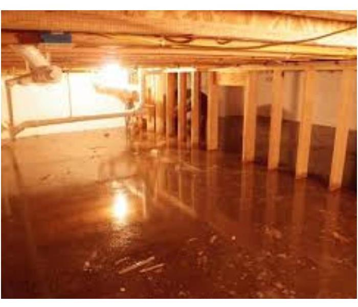 Water Damage  Water Removal in Your Crawl Space
