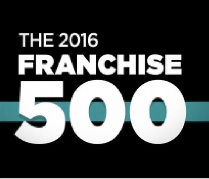 General SERVPRO Named to Entrepreneur's Top 10 Franchise List  for 7th Consecutive Year