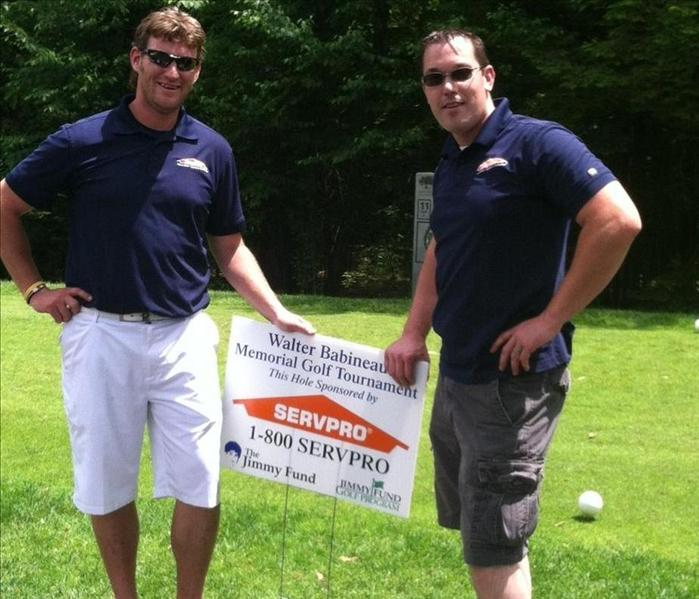 Community SERVPRO participates in Memorial Golf Tournament